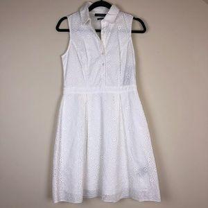 Lauren Ralph Lauren Eyelet Sheath Dress